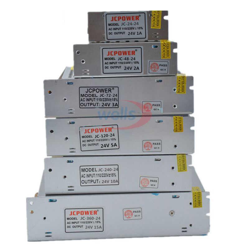 Светодиодный трансформатор выключатель 5 V 12 V 24 V 36 V 48 V Питание, 2A/3A/4A/5A/6A/10A/12A/20A/30A/40A/60A Мощность для светодиодный полосы