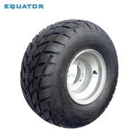ATV 8 Inch Vacuum High Wear Resistant Tires 18X9.50 8 18*9.50 8 (220/55 8) tyre Road Tires With Iron Wheels