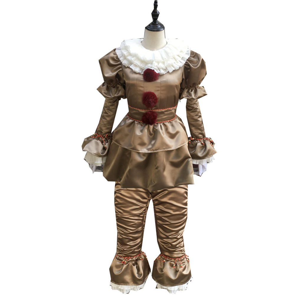 2017 KIM HA NEU Movie Stephen King's It Pennywise Cosplay Costume