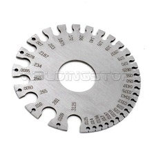 Buy wire gauge diameters and get free shipping on aliexpress qy ws genuine round wire gauge diameter gage stainless steel inch inspection swg keyboard keysfo Choice Image