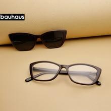 Bauhaus, магнитные очки, полная оправа, оптическая оправа, очки по рецепту, папилионовые, близорукость, поляризация, солнцезащитные очки