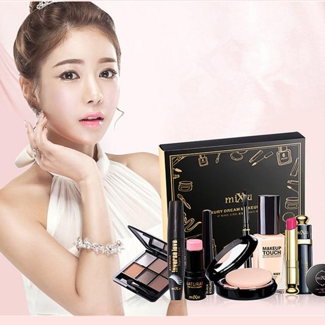Professional Makeup Set 9 Pcs/set Nude Makeup Beginner Cosmetic Set Breathable Natural Ultra-fine Beauty Tools