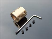 цена на 10*12mm Shaft Outer diameter 20mm Copper DC motor accessory encoder Rigid Coupler Couplings
