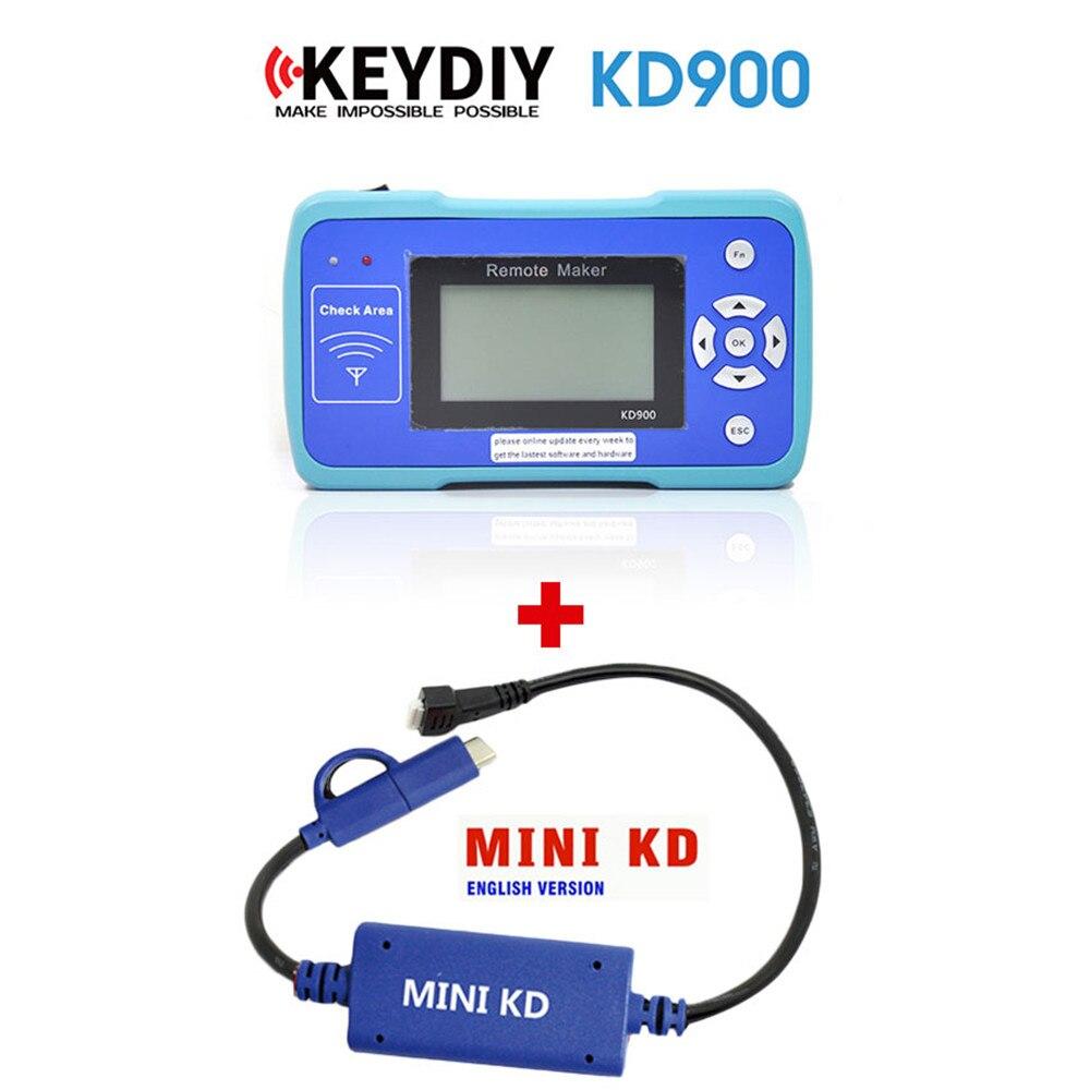 Original KEYDIY KD900 fabricant à distance maître + Mini KD clé générateur à distance pour Android mise à jour gratuite