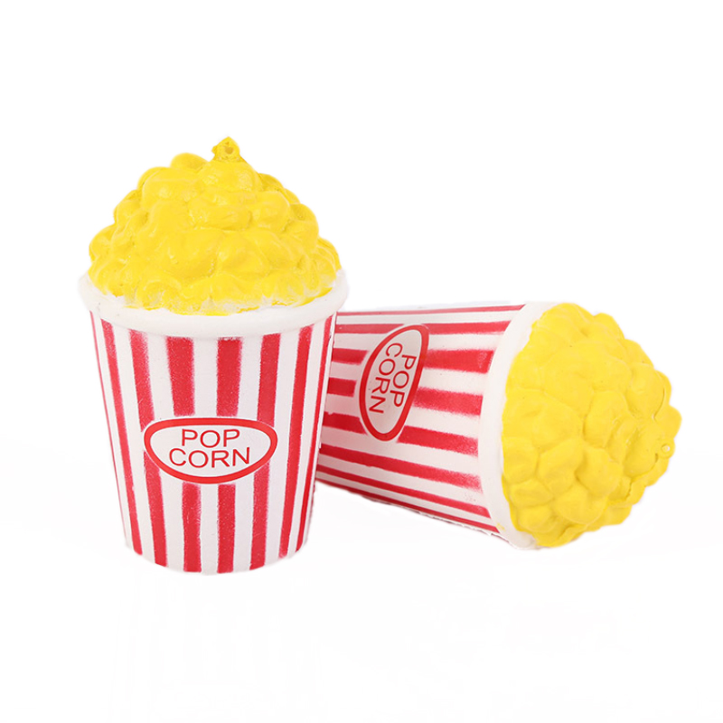 Creative Toys Squeeze Popcorn Cup Squishy Slow Rising Decompression Kid Gift Squishies novelty fun toys