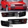 For 1993-1998 VW Golf Jetta Mk3 12V Front Smoke/ Clear Lens Fog Light Signal Light Lamp