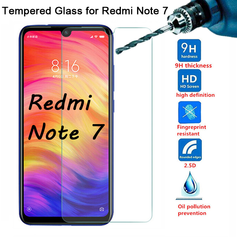 Protective Glass For Redmi Note 7 Screen Protector On Xiaomi Redmi 7 7A Note 7S Hard Tempered Glass For Redmi K20 Pro K 20 Film