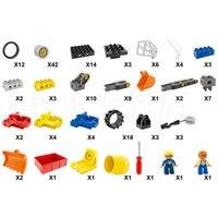 Крупные частицы строительные блоки игрушки запчасти аксессуары разнообразный проект 45002/45015 совместимый legao Обучающий робот 160 таблетки