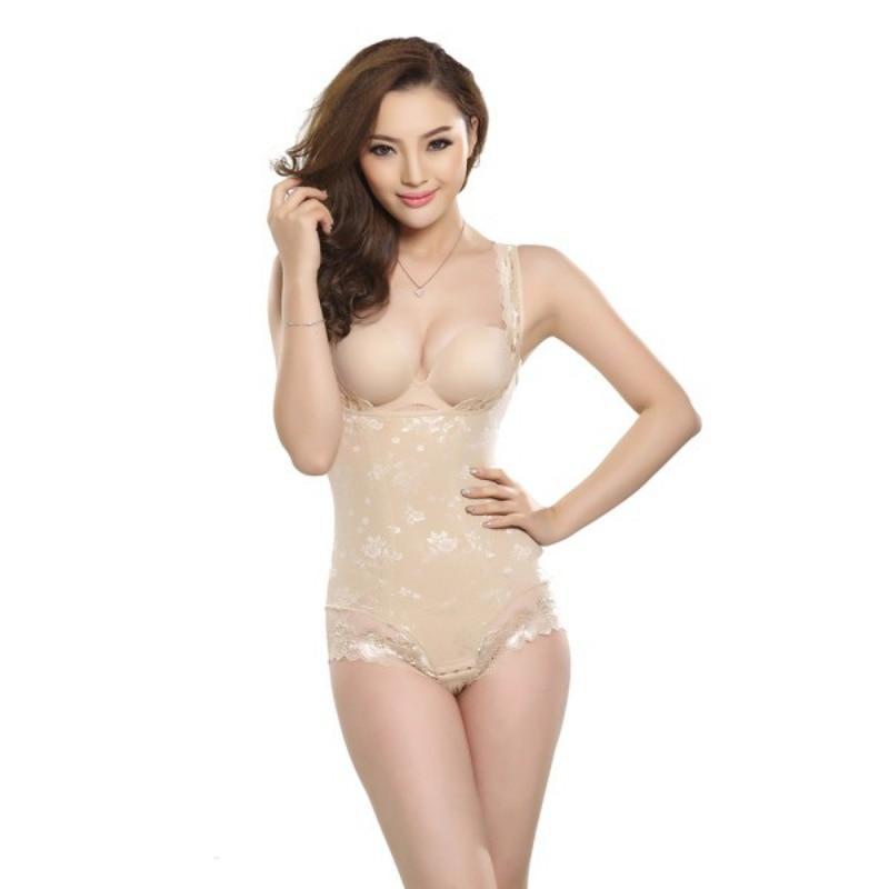 db6a5c807d636 Sexy Bodysuit Women Plus Size BodyShaper Control Panties High Waist Corset  Shapewear