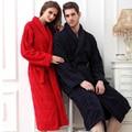 Hilift roupões de banho 100% algodão toweled amantes roupão espessamento robe de algodão