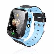 Nueva y03 smart watch pantalla táctil gprs localizador rastreador anti-perdida smartwatch reloj bebé con cámara remota sim llamadas para niños