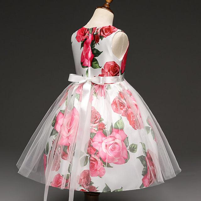 Tienda Online Vestidos de flores de niña de Boda del desfile primera ...