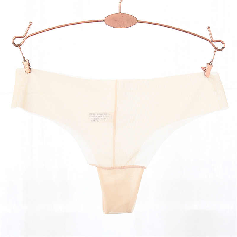 776e5758c083 Super Thin Women Thongs And G Strings Invisible Silk Seamless Thong; Best  ...