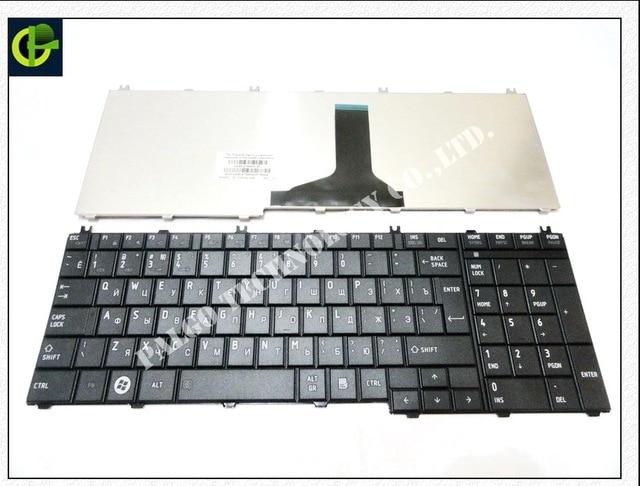 Russian Keyboard for toshiba Satellite C650 C655 C655D C660 C670 L650 L655 L670 L675 L750 L755 l755d RU Black keyboard