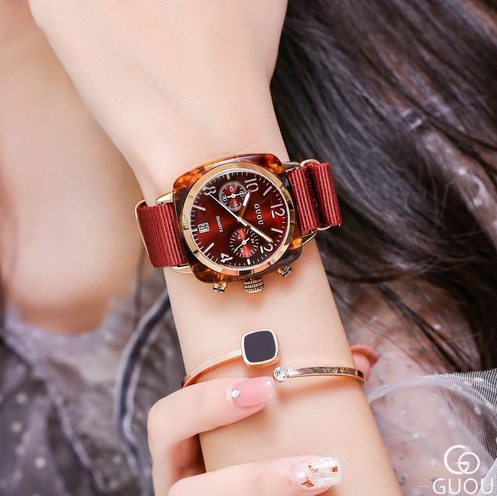 New Style Couple watch fashion dress match ladies watch waterproof large dial quartz watch with calendar leather watchband G8218New Style Couple watch fashion dress match ladies watch waterproof large dial quartz watch with calendar leather watchband G8218
