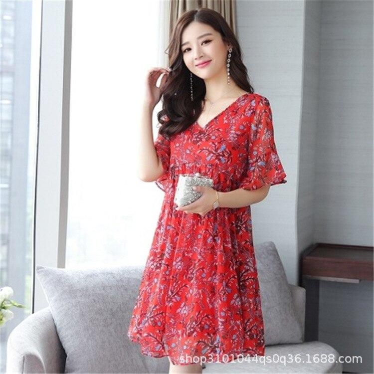 DH2973 мода осень Для женщин Сплошной вечерние платье короткий рукав o-образным вырезом Повседневное платье трапециевидной формы Для женщин п...