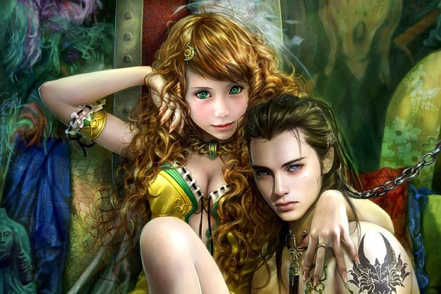 Fantasy Art Of Nude Women And Men