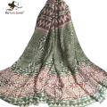 Fringed Trim Floral Print Wrap and Scarf for Women Geometric Striped Oblong Scarfs and Shawls Ladies Outdoor Casual Wraps