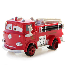 Disney Pixar Cars 2 Toys Car 1:55 Red Firetruck Metal Diecast Alloy Car Toys Model For Children Birthday Gift