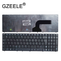 GZEELE New French azerty keyboard for Asus MP 10A76F06528 0KN0 IP1FR02 04GNZX1KFR00 2 FR laptop keyboard black