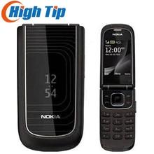 Разблокированный Nokia 3710 флип Восстановленный сотовый телефон 3g 3.2MP камера bluetooth 1 год гарантии