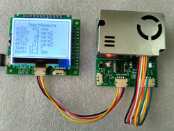 Tester 7-in-One Sensor Module with Screen PM2.5 PM10 Temperature and Humidity C02 Formaldehyde TVOC