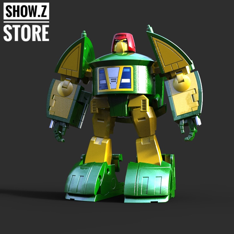 [Show.Z Store] XTransbots MM-IX Klaatu MP Spaceacer Transformation Action Figure viruses cell transformation and cancer 5