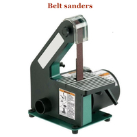 762 Belt Sander Sanding Machine Woodworking Metal Grinding Polishing Machine Knife Grinder Chamfering Machine 350w Copper