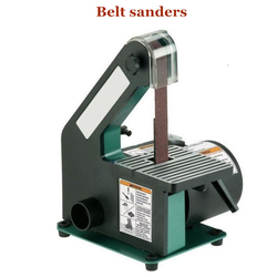 Vertical Belt Sander Woodworking Metal Grinding/Polishing Belt Size 25x762mm Work Table Size 130x130mm 350W Copper Motor 762