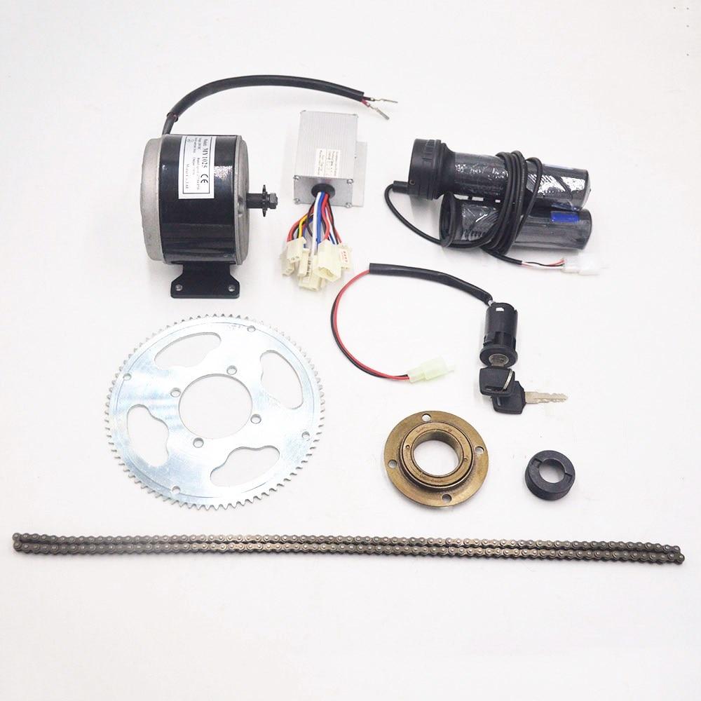 Perfect 24V 250W electric bike motor conversion kit electric motor for ebike/scooter/electric bicycle 0