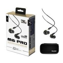 Nueva MEE M6 Pro Auriculares de Audio Universal-Fit Monitores de Aislamiento de Ruido En la Oreja los Auriculares Auriculares Con Cables Desmontables