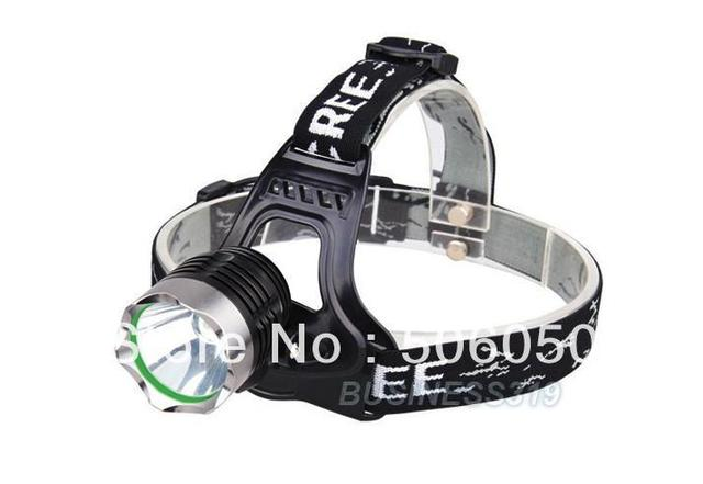 18650 headlamp CREE XM-L XML T6 head led bulb hunting LED Headlight 1800 Lumen Rechargeable Charger