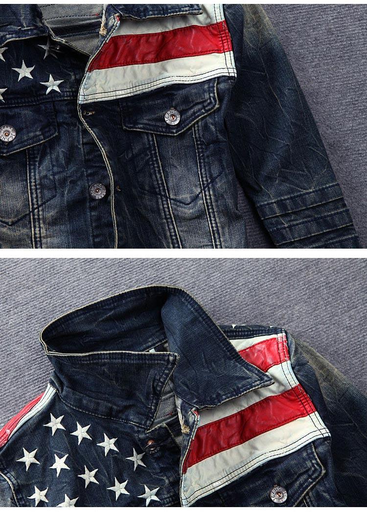 Veste en jean homme usa