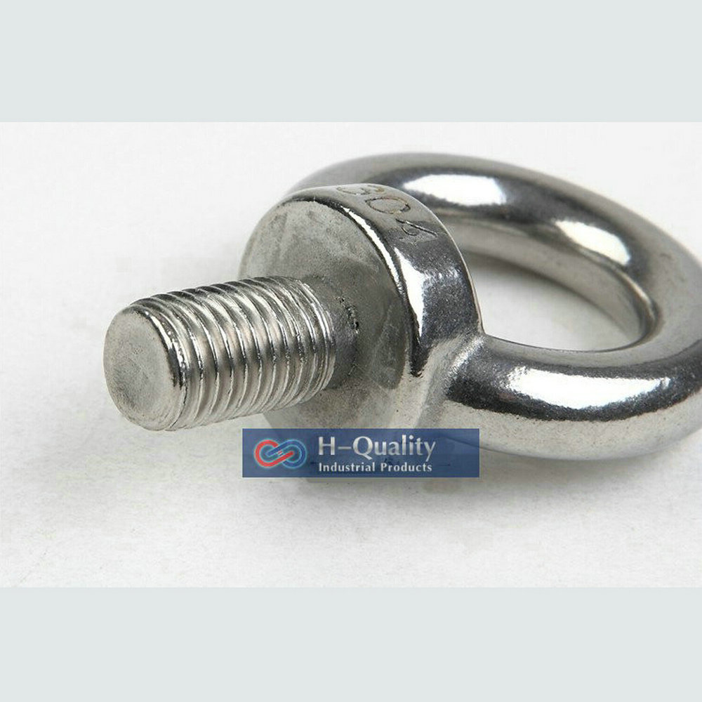 Rigging Hardware M6 DIN580 Metric Thread Stainless Steel 304 Lifting ...