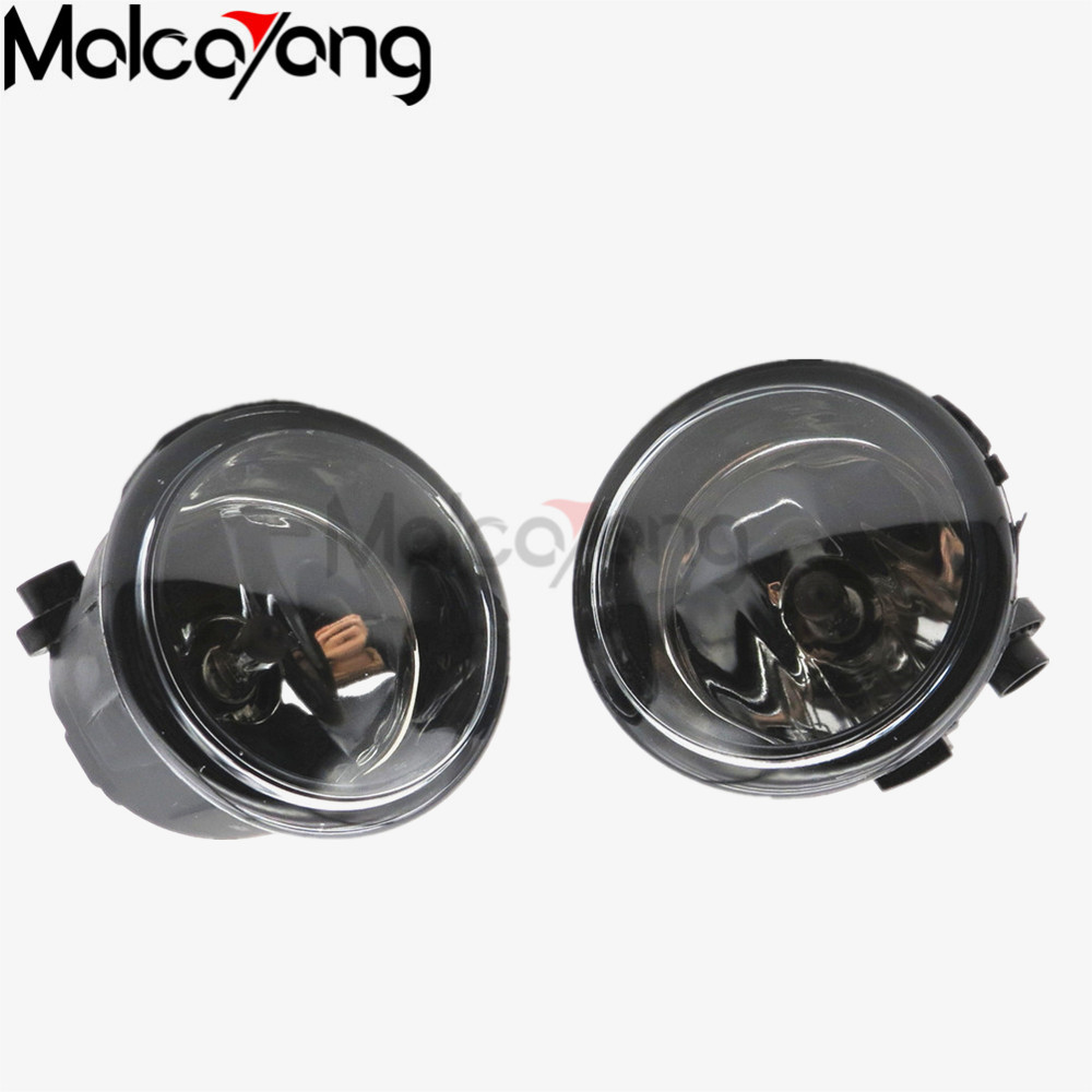 2 Pcs/Set For NISSAN MURANO 2007-2015 Halogen Fog Lamps Fog Lights Car Styling Front Bumper Light Original 26150-8990B 2pc abs after the triangle decorate for nissan murano 2015