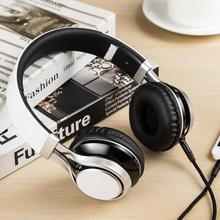 HD30 colorful music headset with microphone bass stereo hifi headphones for mobile phone foldable wired earphones for computer