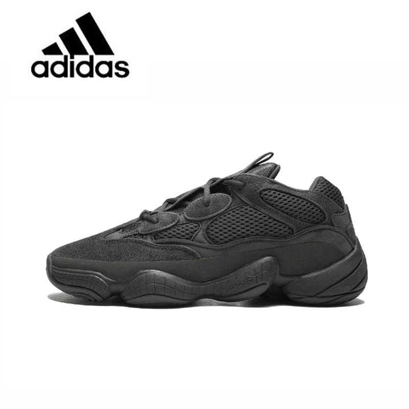 Original Nouvelle Arrivée Officiels Adidas Yeezy 500 Utilitaire Noir U Unisexe Respirant Chaussures de Course Sport En Plein Air Sneakers F36640