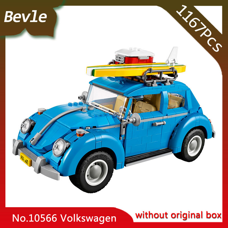 Doinbby Store Bela 10566 1167pcs Technic Series Volkswagen Beetle Model Building Blocks Set Bricks For Children Toys  10252 car usb sd aux adapter digital music changer mp3 converter for volkswagen beetle 2009 2011 fits select oem radios
