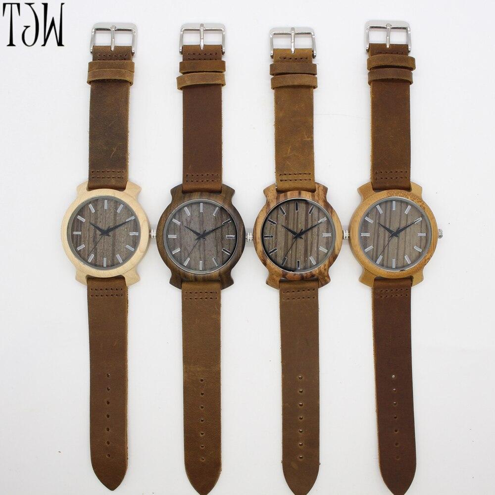 Tjw горячие продажи пользовательских уникальный Корк Watch Smart деревянные часы
