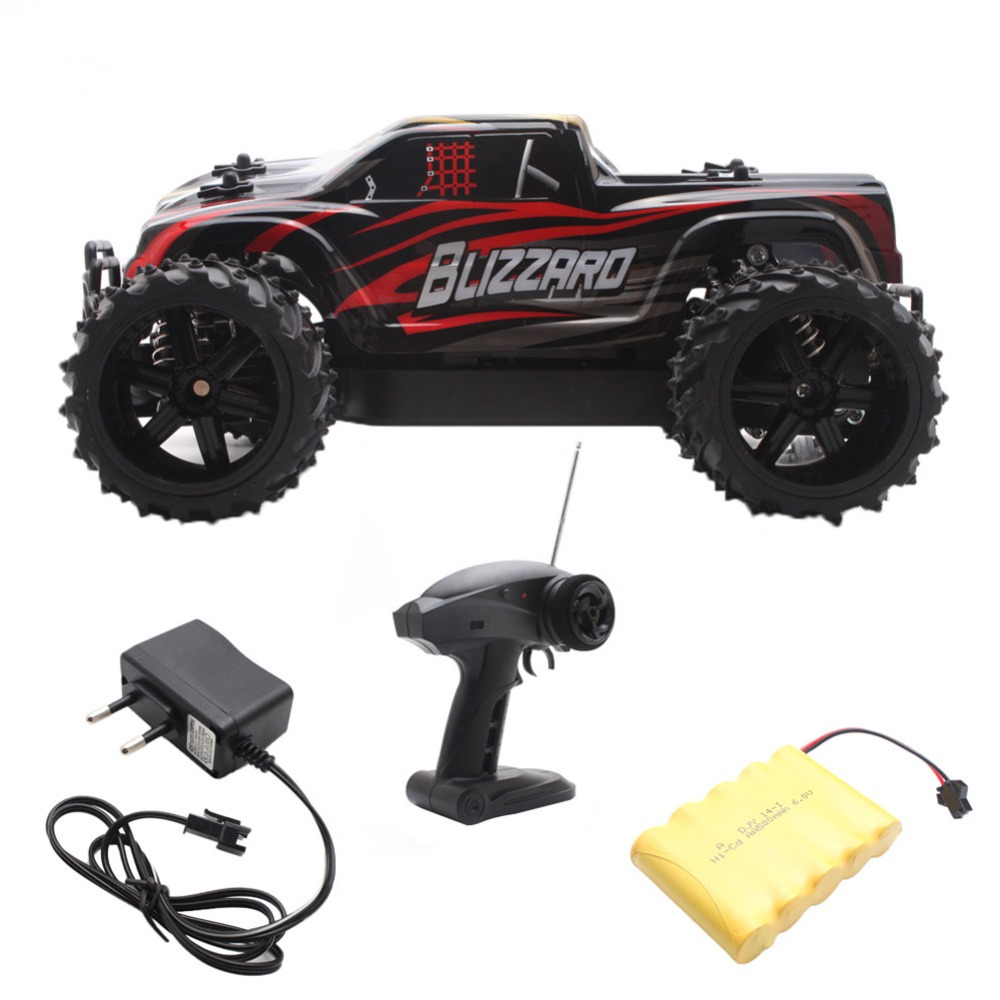 2.4G 1/16 Scale Remote Control OFF-road RC Racing Car High Truck Speed Stunt SUV Red rc car 2 4g 1 18 scale remote control off road racing car high speed stunt suv toy gift for boy rc mini car