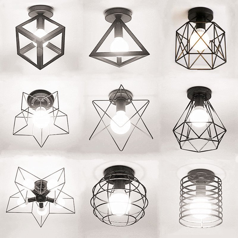Vintage multi style Ceiling Lights Lamparas De Techo lustre Luminaria Abajur Ceiling Lamp Home Lighting Avize Luminaire 120cm 100cm modern ceiling lights led lights for home lighting lustre lamparas de techo plafon lamp ac85 260v lampadari luz
