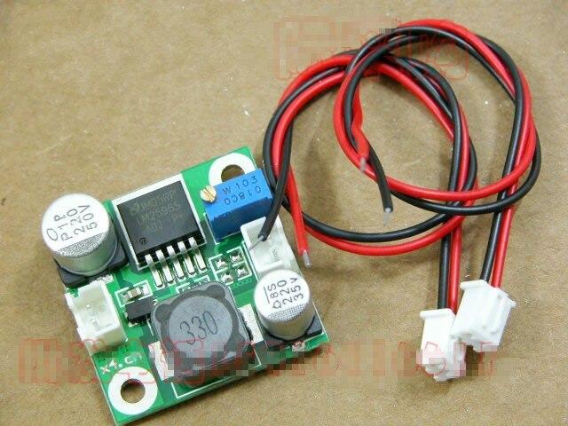 50pcs LM2596 DC DC Converter 4 40V to 1 5 35V Step down Power Supply Module