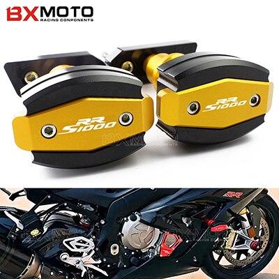 ③CNC aluminio motocicleta Marcos deslizante carenado anti Crash pad ...