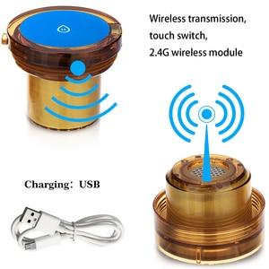 Image 4 - Квантовый резонатор для улучшения сна MRETOH Spin, 7,8 Гц, антивозрастной генератор водородной воды в бутылке, перезаряжаемый Электролизный ионизатор