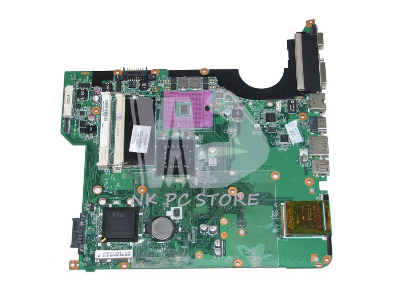 NOKOTION 504642-001 Main Board For Hp Pavilion DV5-1000 DV5-1200 DV5 Laptop Motherboard GM45 DDR2 with Free CPU 434722 001 main board for hp pavilion dv6000 dv6500 laptop motherboard 945pm ddr2 free cpu with discrete graphics