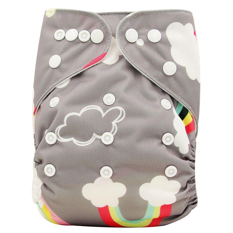 Ohbabyka, детские тканевые подгузники, многоразовые подгузники, унисекс, детские штаны для ухода за ребенком, водонепроницаемые тканевые подгузники с карманами, детские подарки для душа - Цвет: OB141