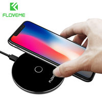FLOVEME Wireless Charger For Samsung Galaxy Note 8 S8 Plus Fast Universal Qi Wireless Charger Pad