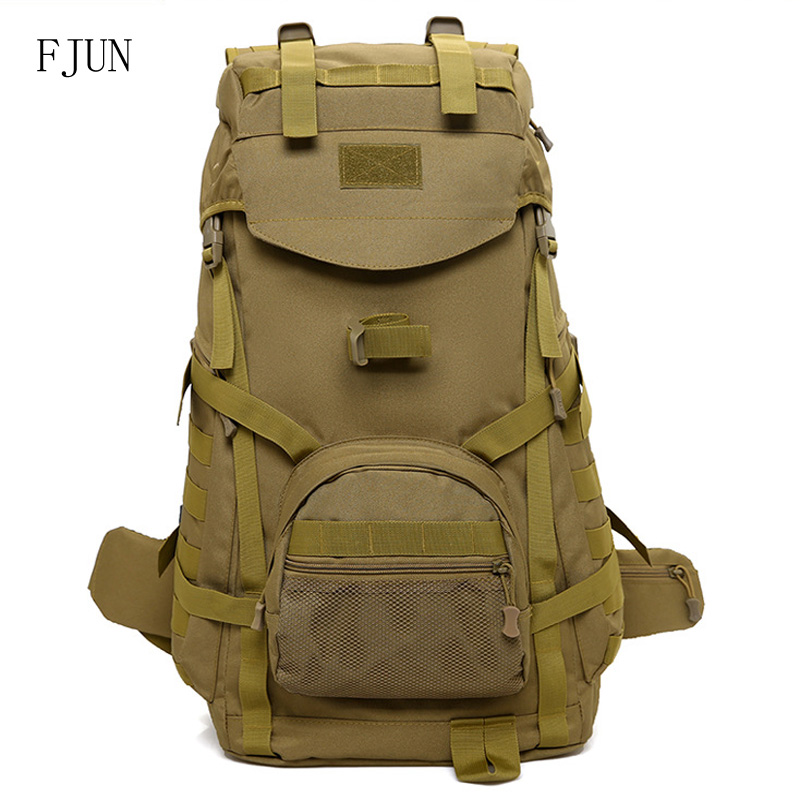 40L Nylon Waterproof Military Tactical Sport Bag Men Women Travel Hiking Camping Outdoor Mountaineering Backpack DG21