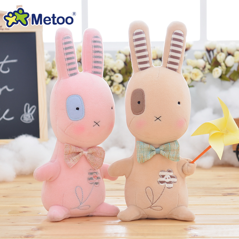 8.3 Inch Plush Cute Stuffed Brinquedos Baby Kids Toys for Girls Birthday Christmas Gift Bonecas Animal Rabbit Girl Metoo Doll stuffed animal 120 cm cute love rabbit plush toy pink or purple floral love rabbit soft doll gift w2226