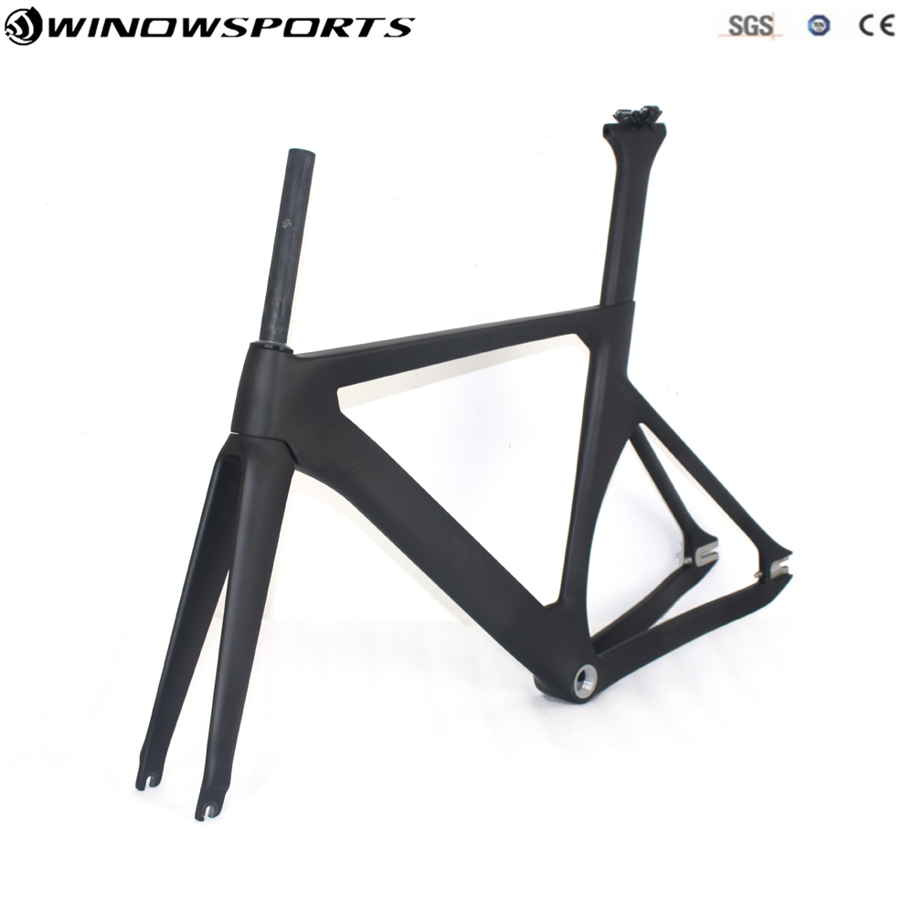carbon fiber bicycle frame track bike frame carbon super frame+fork+seatpost+clamp Bicycle Aero Track Frameset Glossy/matt executivity aero track 5l 505 детали